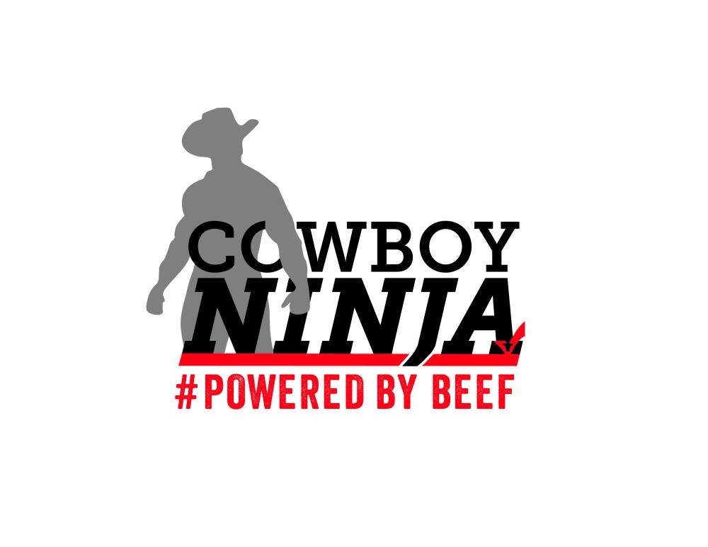 Cowboy Ninja Logo Art Final
